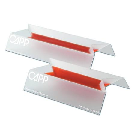 CappOrigami 40 ml (12-channel pipettes), Pre-sterile, 10 bags w/ 5 pcs each