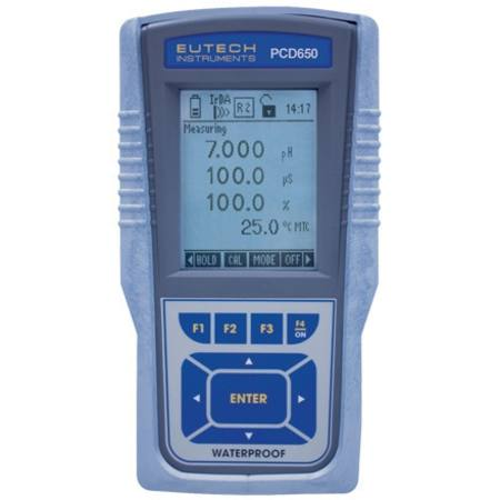 Cyberscan PCD 650 multi parameter meter kit