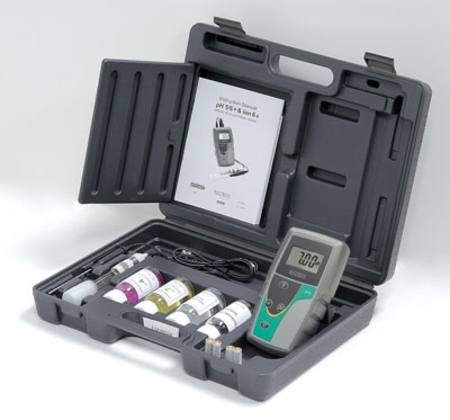 pH6+ pH/ORP 3 in 1 probe meter kit
