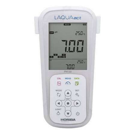 Horiba pH 130 waterproof handheld data meter kit