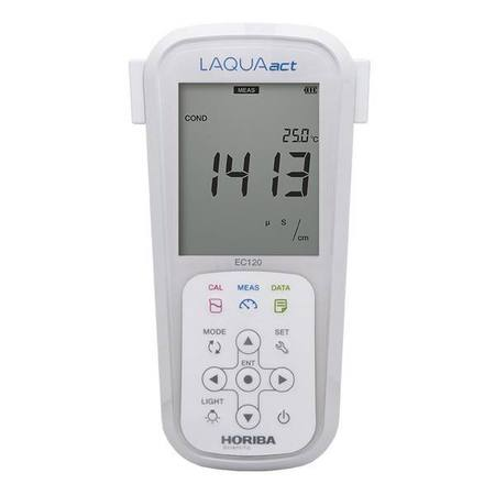 Horiba EC120 waterproof handheld data meter kit