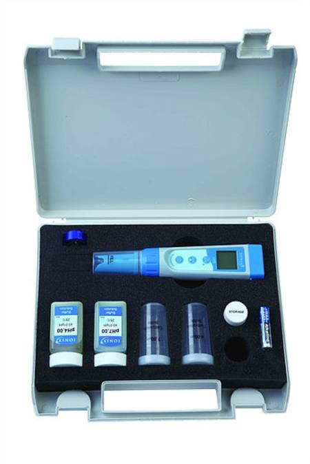 pH5 pH tester with ATC and Temperature Readout