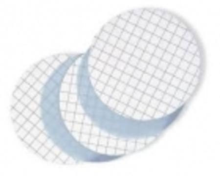 Bioflow CE membrane filter, 47mm, 45µm, sterile, white, gridded, pk100