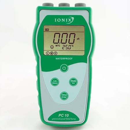 PC10 complete pH/Conductivity meter kit