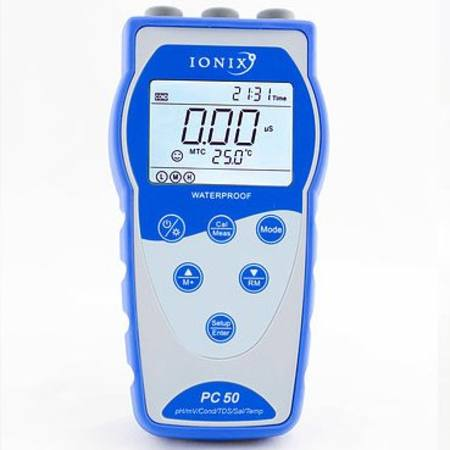 PC50 complete pH/Conductivity meter kit