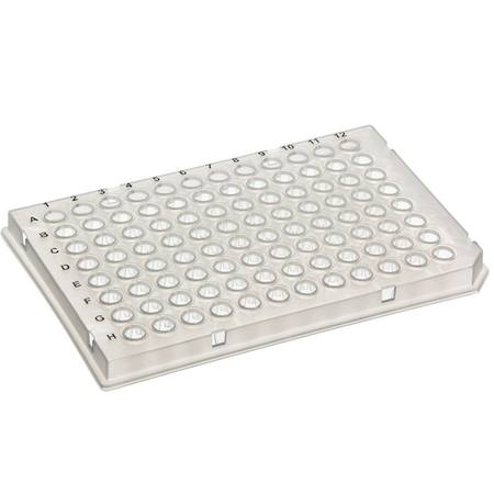 SSI 96-well PCR plate, low-profile, LightCycler type, clear or white