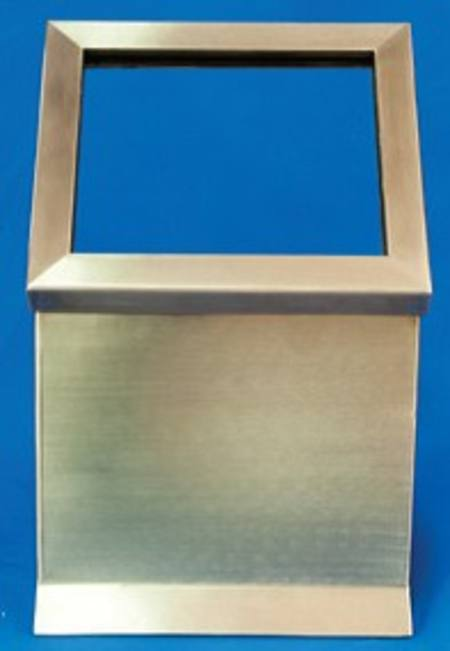 Stainless Steel L Shield